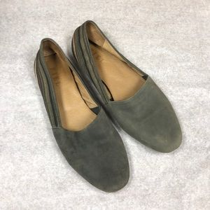 FIEL leather flats anthropologie